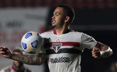 Luciano falou sobre derrota do São Paulo (Foto: Rubens Chiri / saopaulofc.net)
