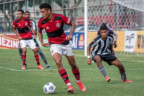 Flamengo venceu o Botafogo por 2 a 0 na Gávea (Foto: Paula Reis/Flamengo)