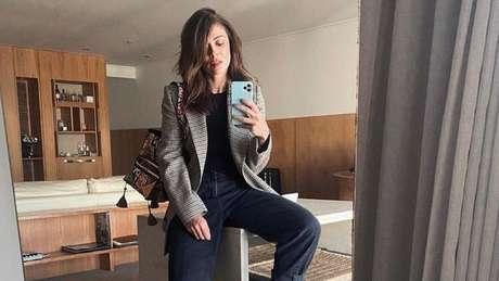 A atriz reapareceu nas redes sociais nesta segunda-feira (7).