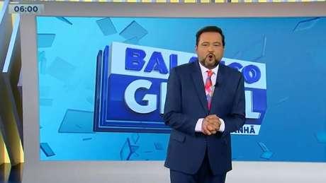 O apresentador fez seu retorno na manhã desta segunda-feira (7)
