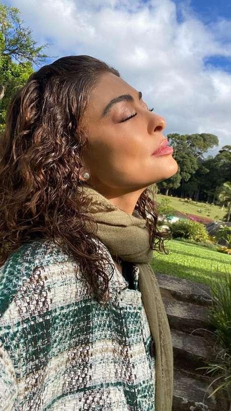 A atriz foi criticada durante o feriado após publicar um vídeo com o seu posicionamento político.