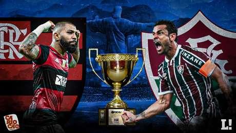 Clássico Fla-Flu decidiu o Campeonato Carioca 2021 (Arte Lance!)