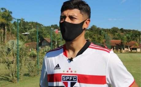 Facundo Milán, reforço do Sub-20 (Foto: São Paulo)