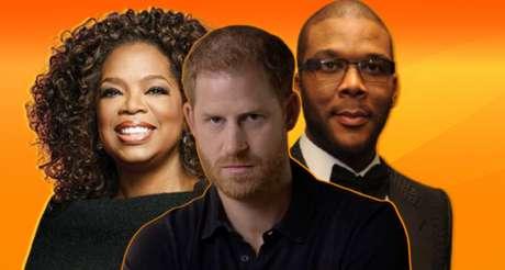 Harry entre Oprah e Tyler: celebridades negras ajudam o príncipe a realizar o 'american dream'