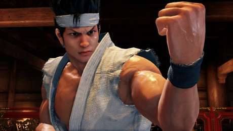 Akira em Virtua Fighter 5: Ultimate Showdown