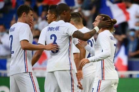 França venceu a Bulgária em amistoso (Foto: FRANCK FIFE / AFP)