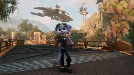 Modo fotografia em Ratchet & Clank: Em Uma Outra Dimensão