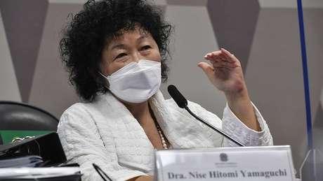 Nise Yamaguchi disse que foi uma 'colaboradora eventual' do governo federal no combate à pandemia