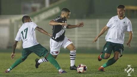 No primeiro jogo, o Vasco venceu o Boavista por 1 a 0, em Saquarema (Foto: Rafael Ribeiro/Vasco)
