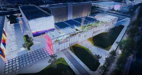 A previsão é que a partir do segundo trimestre de 2024 o Centro de Convenções e o Pavilhão de Exposição sejam reinaugurados, assim como a arena multiuso