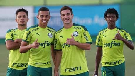 As Crias da Academia terão ainda mais espaço no Paulista (Foto: Cesar Greco/Palmeiras)