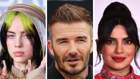 Billie Eilish, David Beckham e Priyanka Chopra Jonas estão entre as celebridades embaixadoras do Unicef que assinaram carta aberta pedindo que G7 doe vacinas ao resto do mundo