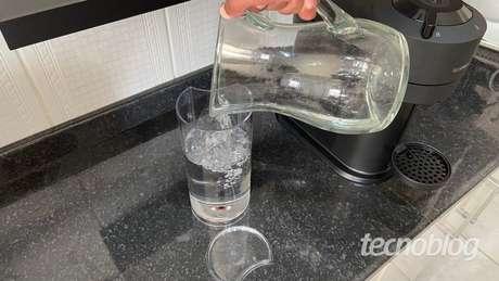 Reservatório de água da Nespresso Vertuo Next