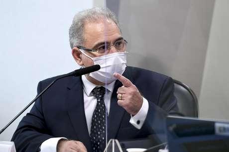 Marcelo Queiroga presta depoimento na CPI da Covid