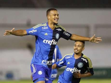 Gabriel Barbosa em ação pelo Palmeiras (Foto: Fabio Menotti / Ag. Palmeiras)