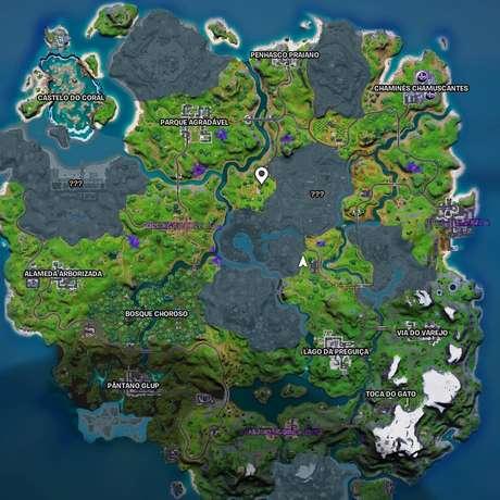 Fortnite: Novo mapa da Temporada 7