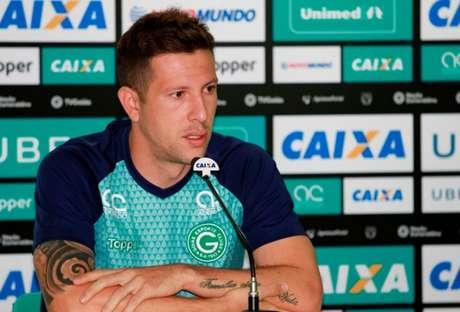 Jogador está no atual clube desde 2017 (Rosiron Rodrigues/Goiás EC)
