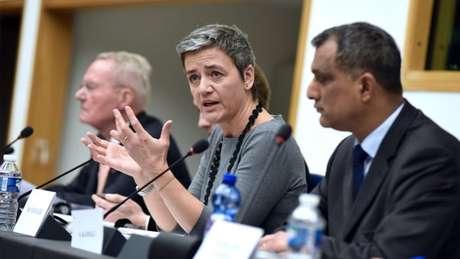 A comissária de competição da UE, Margrete Vestagen