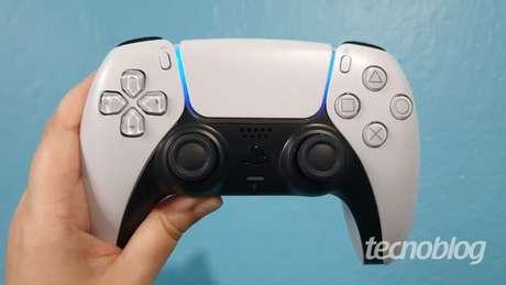 DualSense ganha correção por atualização do PS5