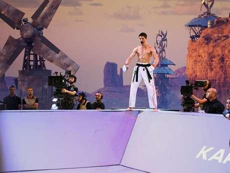 Bruno pode ser o primeiro carateca do país a faturar um título da organização (Foto: Divulgação/Karate Combat)