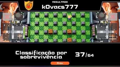 Aprende-se a jogar nas batalhas totais 64/64