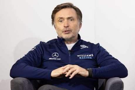 Jost Capito assumiu em 2021 como novo CEO da Williams. Agora também será chefe de equipe