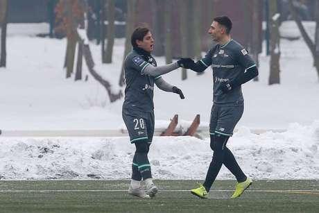 Conrado busca fazer boa temporada na Polônia (Divulgação / Lechia Gdansk)
