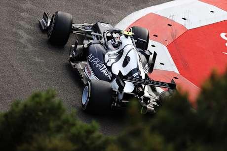 Pierre Gasly conquistou o terceiro lugar no GP do Azerbaijão