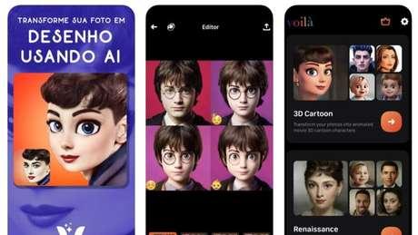 Voilà AI Artist transforma rostos em desenhos
