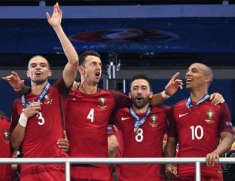 Pepe foi campeão em 2016 (Foto: Franck Fife / AFP)