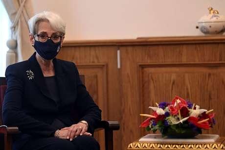Vice-secretária de Estado norte-americana, Wendy Shermann, em Istambul  29/5/2021    Ozan Kose/Pool via REUTERS
