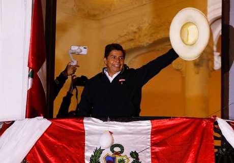 Candidato à presidência do Peru, Pedro Castillo, em Lima 08/06/2021 REUTERS/Sebastian Castaneda