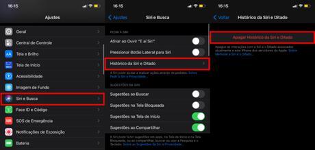 Apague as gravações da Siri no iPhone, iPad ou iPod touch