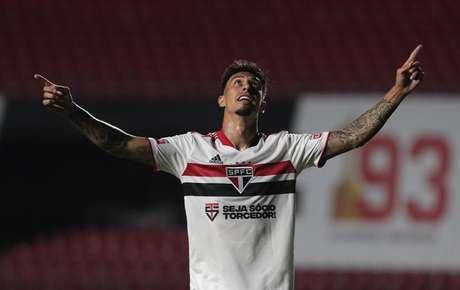 Rigoni estreou bem como titular do São Paulo (Foto: Rubens Chiri / saopaulofc.net)