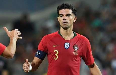 Pepe é um dos nomes da seleção portuguesa (Foto: AFP)