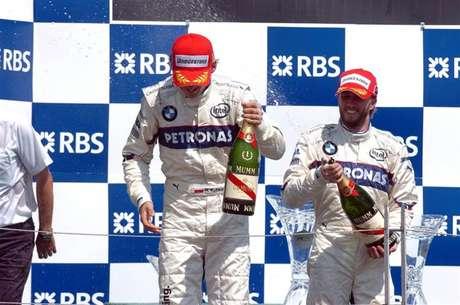 A única vitória de Robert Kubica na F1 foi anotada em 2008, pela BMW