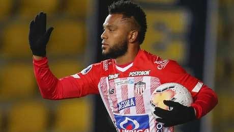 Borja está emprestado ao Jr. Barranquilla (Foto: Getty Images)