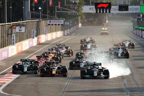 Botão mágico de Hamilton consolidou vitória de Pérez
