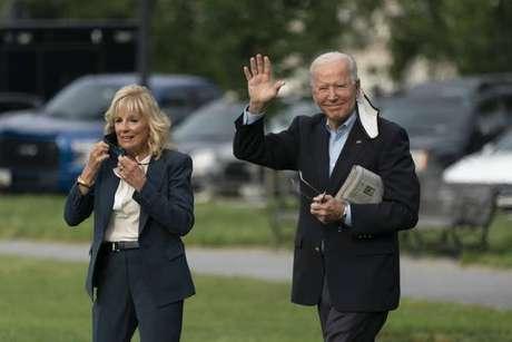 Biden deu declaração antes de embarcar para sua primeira viagem internacional
