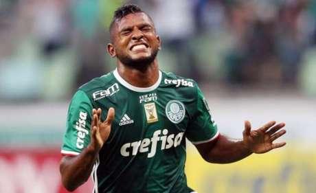 Borja comemora gol pelo Palmeiras (Foto: Cesar Greco/Palmeiras)