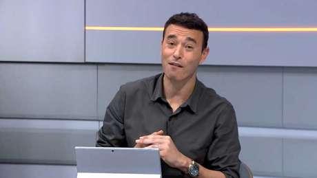 André Rizek é apresentador do programa 'Seleção SporTV' (Reprodução/SporTV)