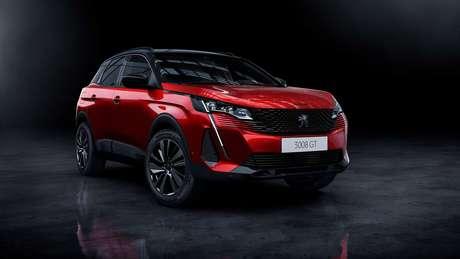 Novo Peugeot 3008 adota a nova identidade visual da marca francesa.