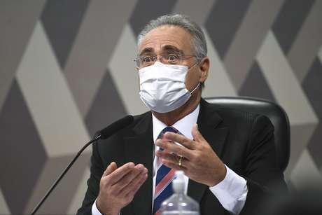 Renan Calheiros provocou Jair Bolsonaro