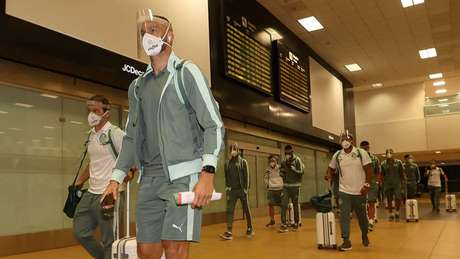 O Palmeiras irá vacinar o elenco no Paraguai (Foto: Cesar Greco/Palmeiras)