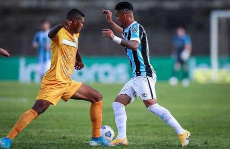 Duelo foi disputado na Boca do Jacaré (LUCAS UEBEL/GREMIO FBPA)