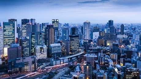 Osaka, no Japão, ficou em segundo lugar na lista de melhores cidades para viver, atrás apenas de Auckland