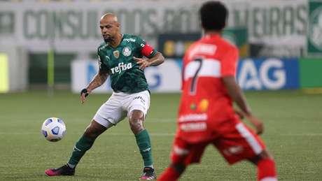 O Palmeiras foi eliminado da Copa do Brasil pelo CRB (Foto: Cesar Greco/Palmeiras)