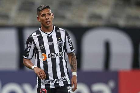 O Galo confirmou o caso do argentino que ficará fora da equipe por várias partidas-(Pedro Souza/Atlético-MG)