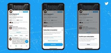 Twitter testa plataforma de assinatura após compra da Revue