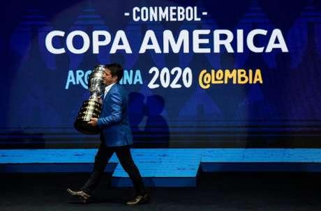 Brasil é anunciado como nova sede da Copa América (Foto: AFP)